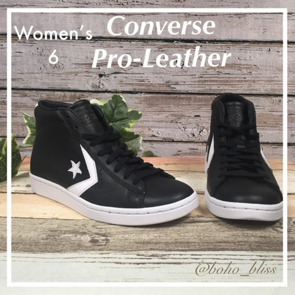 womens leather high top converse